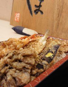 天ぷら 車『天丼弁当』