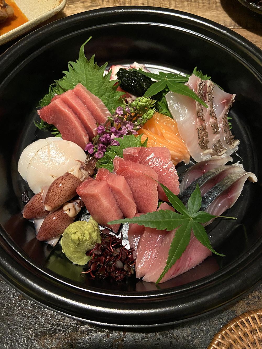 寿司工房空「お刺身盛り合わせ」